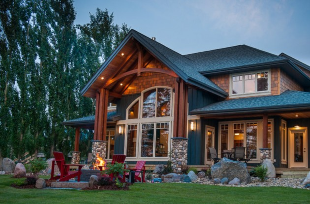 Rumah Tradisional Gaya Rustic