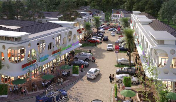 area komersial di hunian